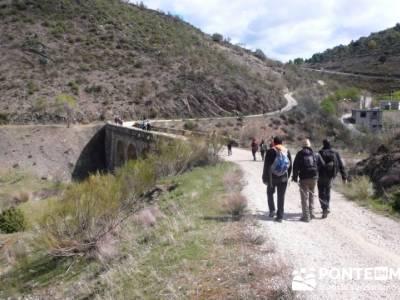 Senda Genaro - GR300 - Embalse de El Atazar - Patones de Abajo _ El Atazar; senderismo el hierro